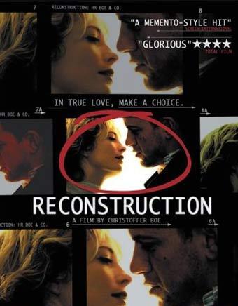 reconstrução de um amor poster