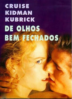 De Olhos Bem Fechados Poster