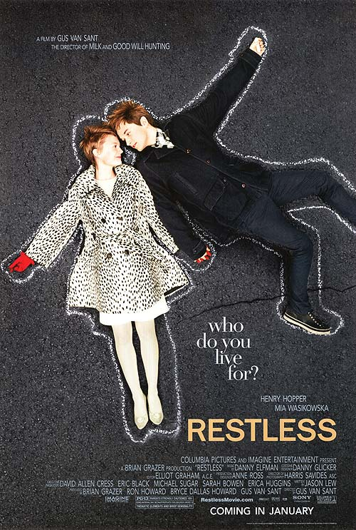 Restless movie poster
