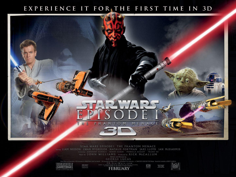 Star Wars 3D quadposter