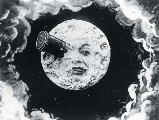 george melies la voyage dams la lune A Invenção de Hugo Cabret