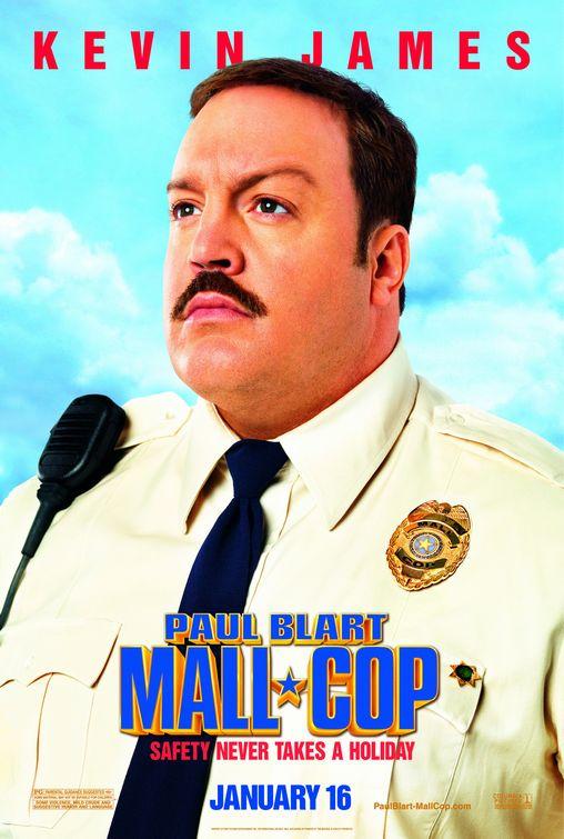 Poster Segurança de Shopping