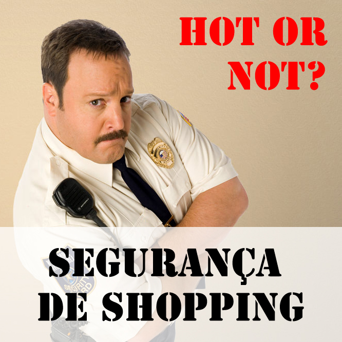 Segurança de shopping Tela Quente