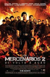 os mercenarios 2 poster