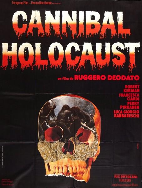 Holocausto Canibal - Poster