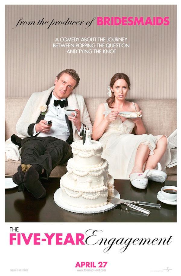 poster cinco anos de noivado