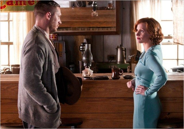 tom hardy jessica chastain os infratores