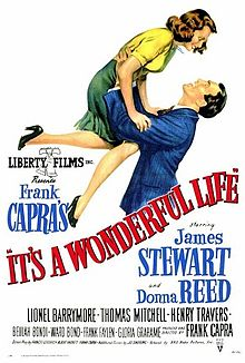 poster it`s a wonderful life