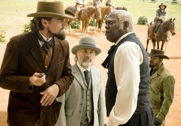 Samuel L. Jackson e Leonardo DiCaprio Django Livre