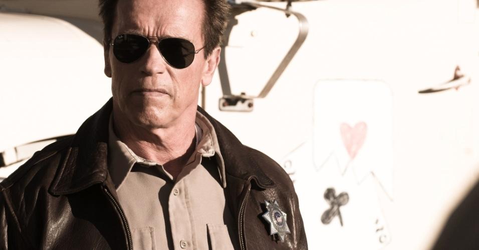 Arnold Schwarzenegger estrela O Último Desafio