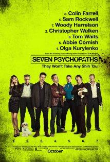 sete psicopatas poster