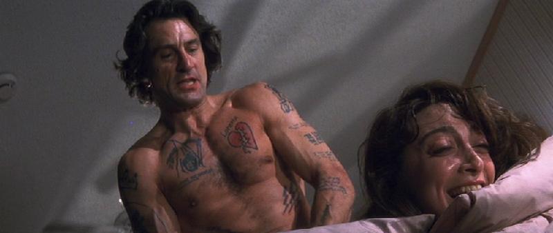 Robert de Niro Cape Fear Tattoos