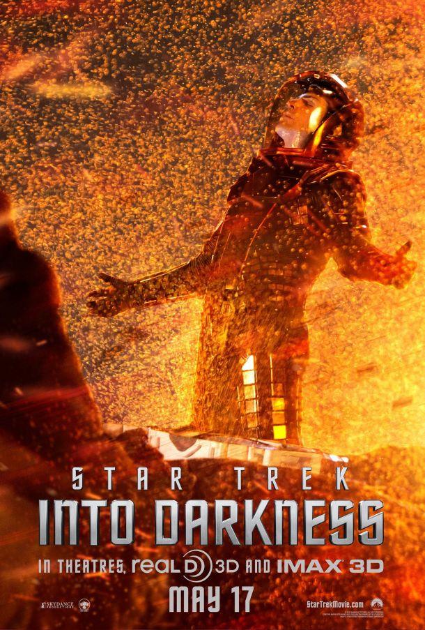 Star Trek into darkness – Poster Spok