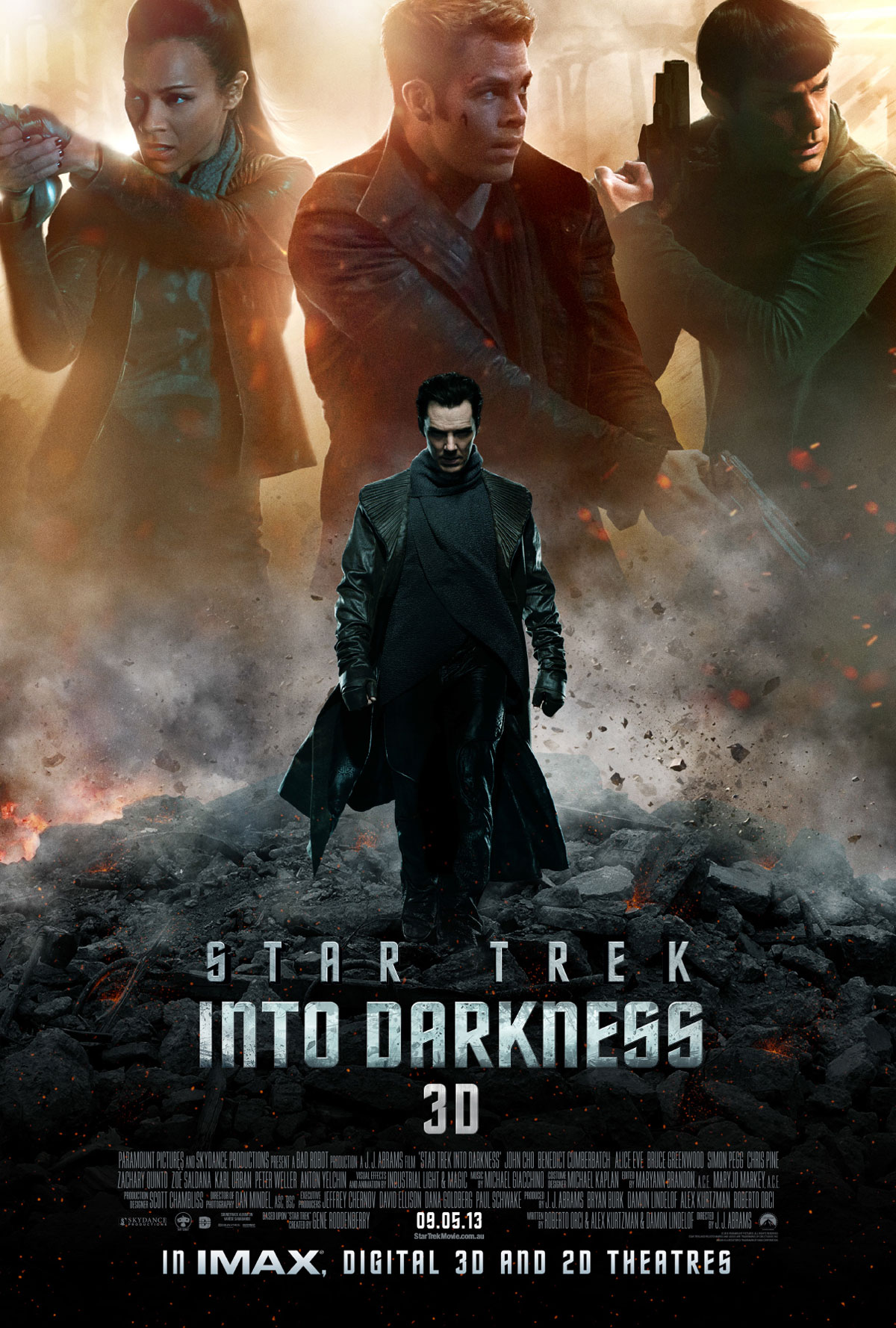 Star Trek into darkness – poster