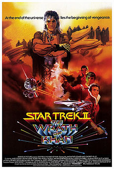 poster star trek wrath of khan