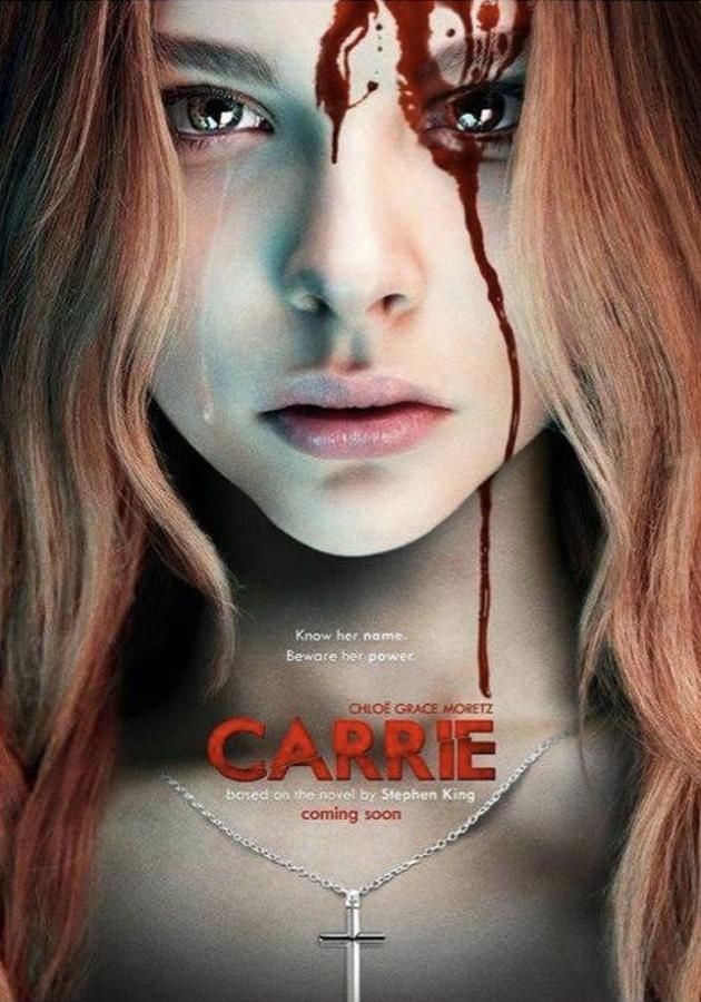 Carrie A estranha – Poster