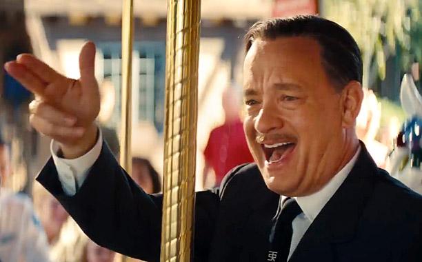 SAVING MR. BANKS – TRAILER NO. 1 — Pictured: Tom Hanks(Screengrab)