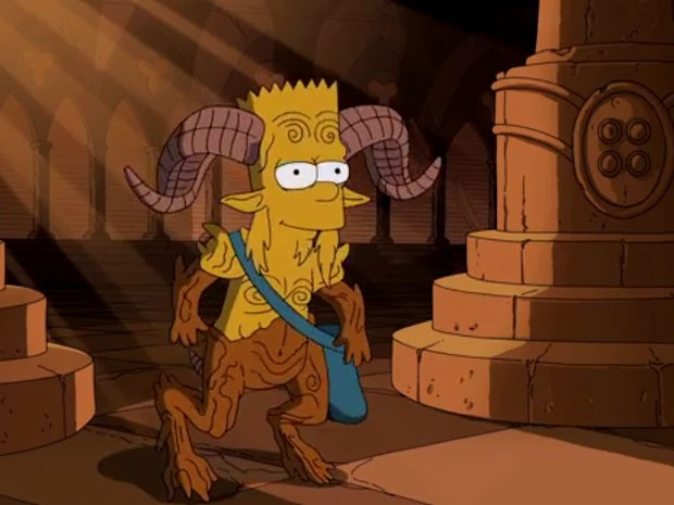 Simpsons Guilhermo del toro fauno
