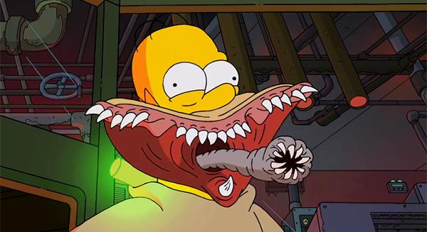 Simpsons Guilhermo del toro