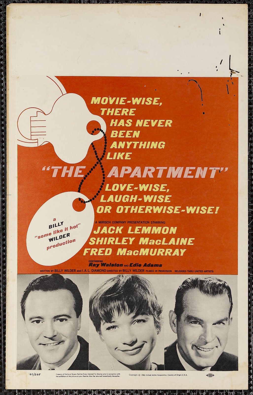 The Apartment poster 2