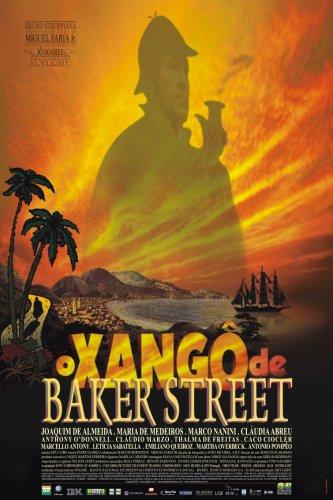 poster O Xangô de Baker Street
