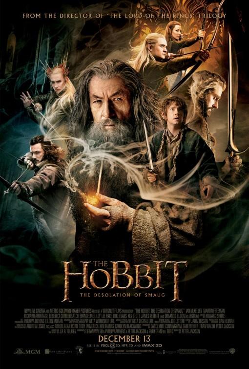 o hobbit desolação de smaug poster2