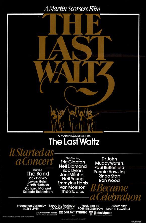 poster last waltz