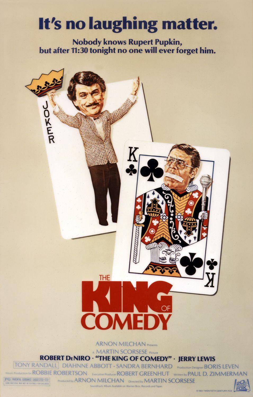 poster o rei da comedia