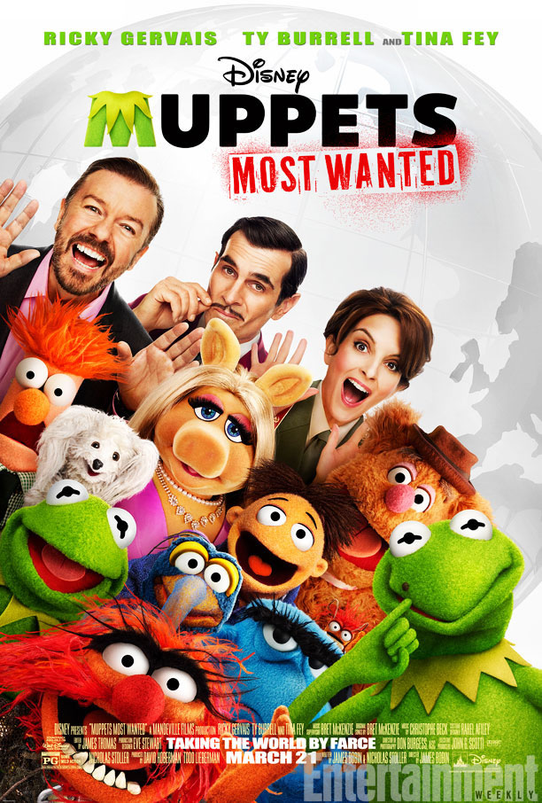 poster os muppets 2