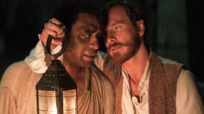 12 years a slave Chiwetel Ejiofor michael fassbender