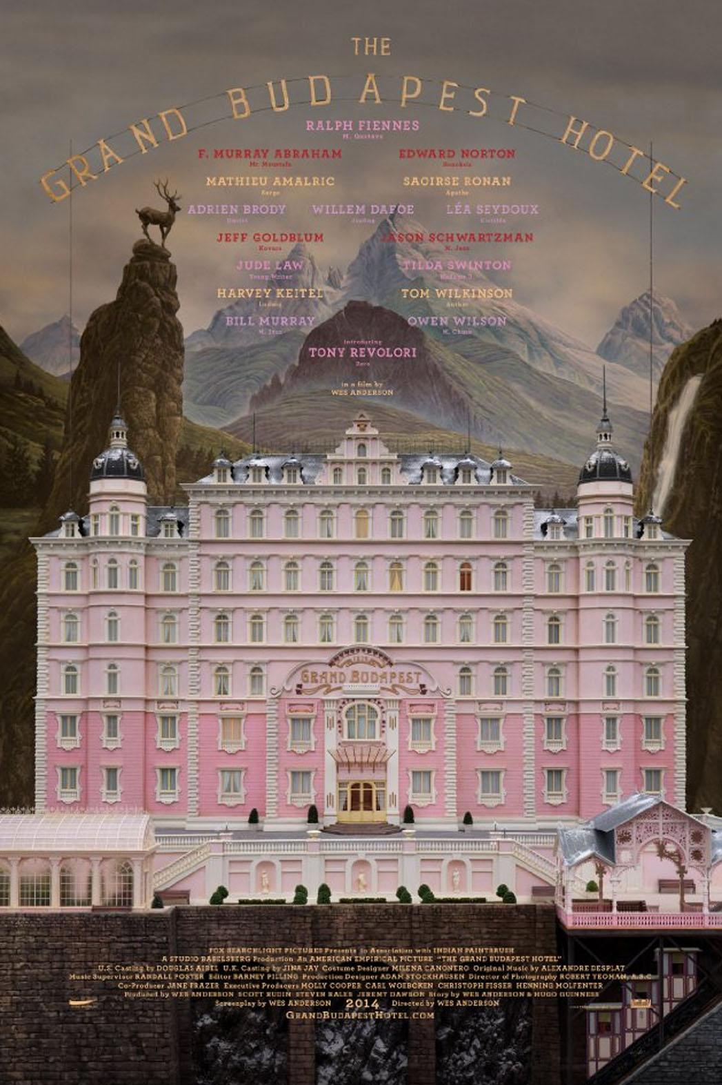13 – Grand Budapest Hotel