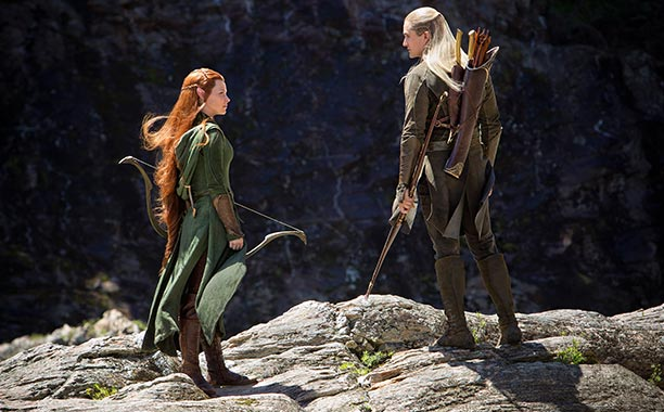 o hobbit a desolacao de smaug legolas