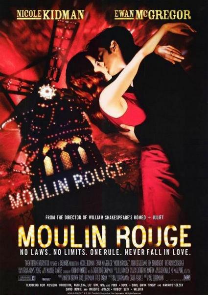 70 – Moulin Rouge – Amor em Vermelho