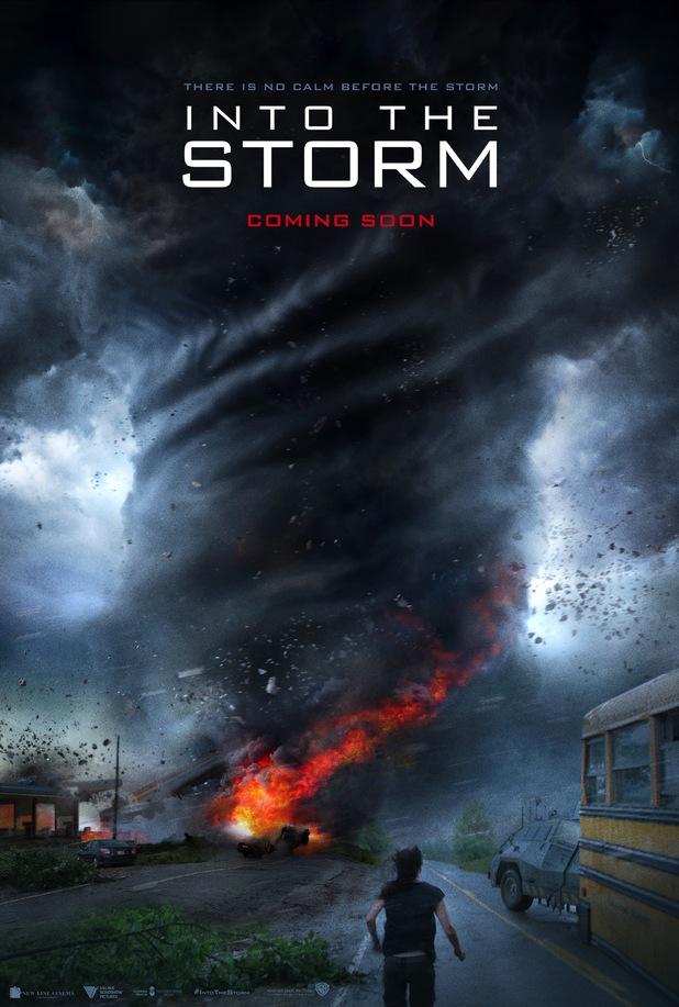 poster no olho do tornado
