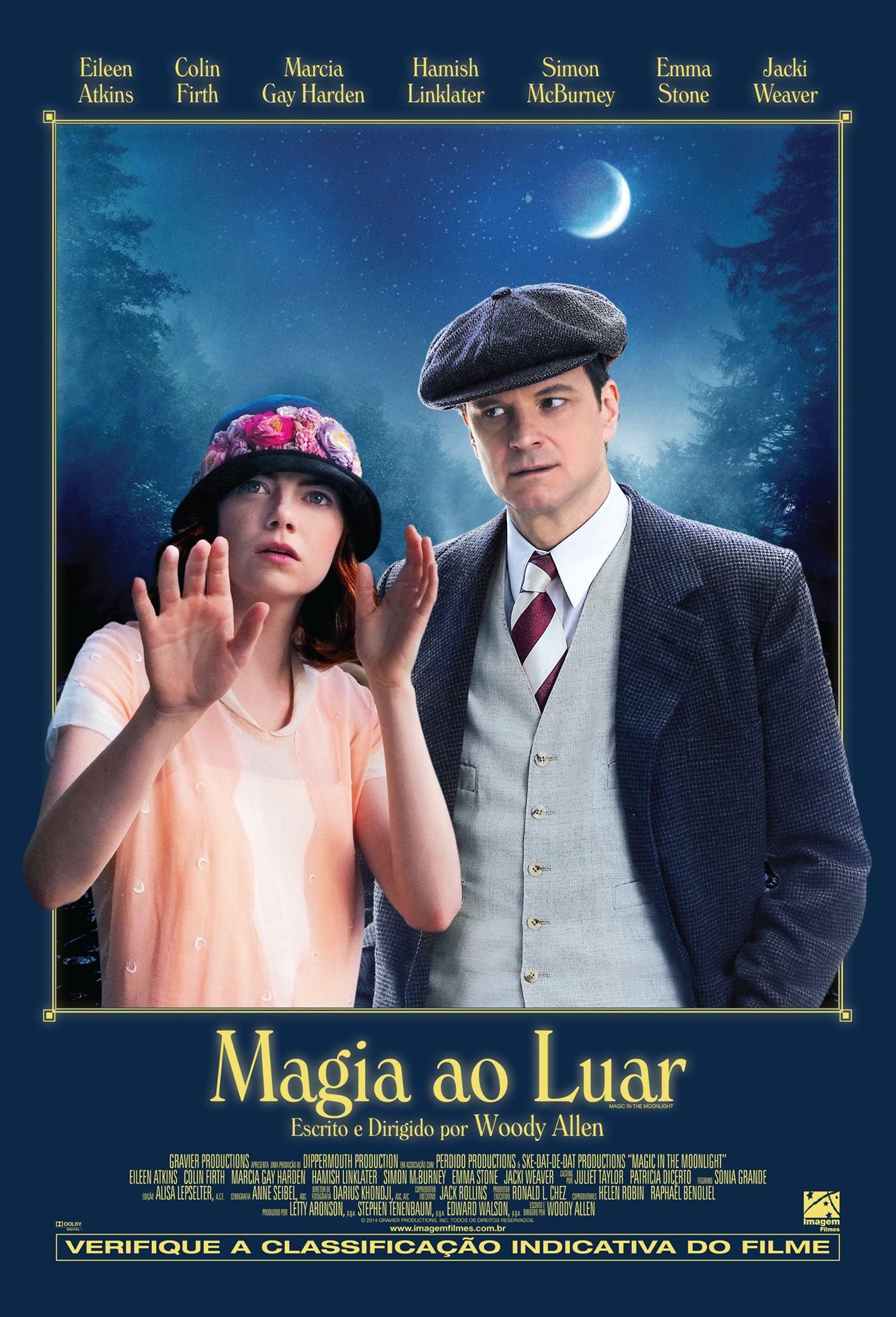 Poster Magia ao Luar de Woody Allen