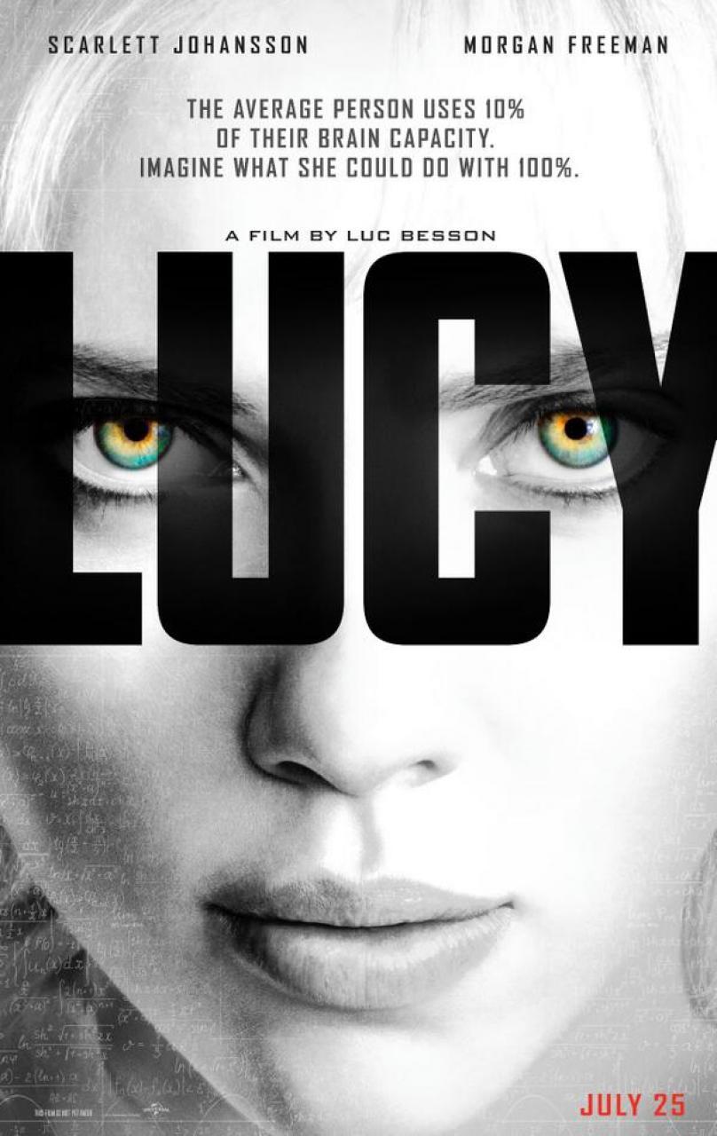 poster lucy em cartaz