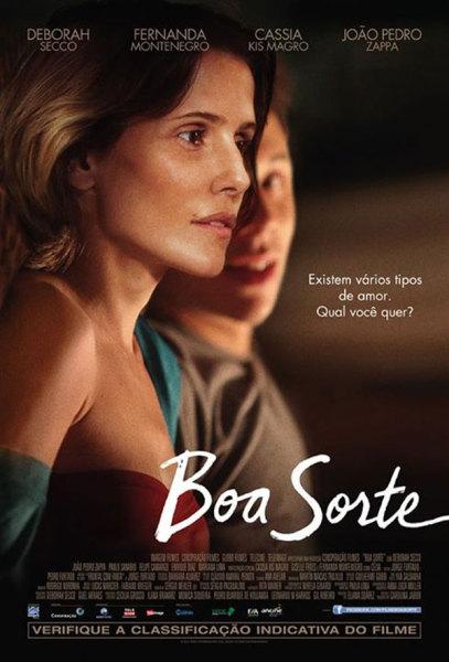 Poster Boa Sorte com Deborah secco