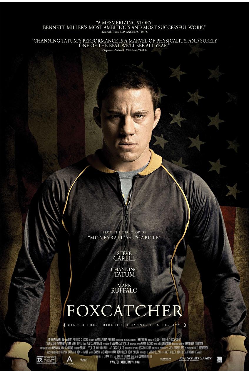 Poster Foxcatcher Channing Tatum