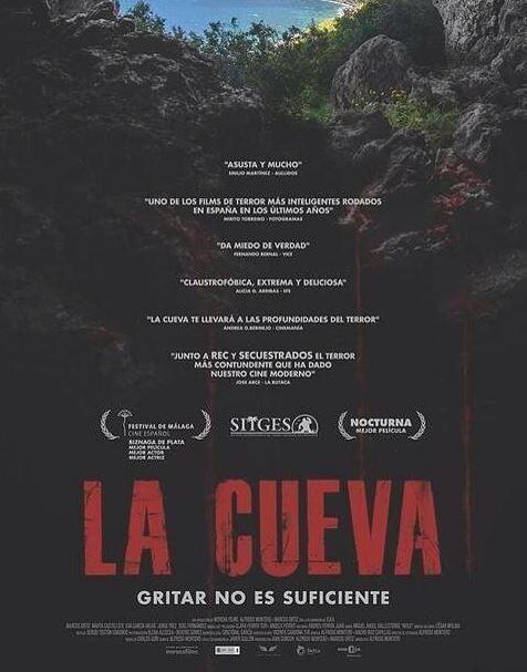 poster la cueva terror espanhol