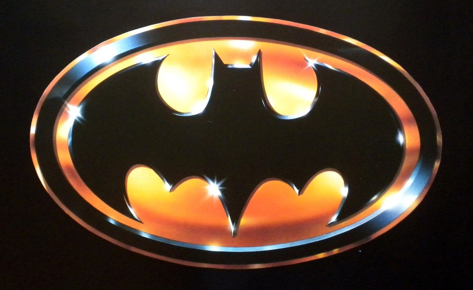 Batman Tim Burton logo