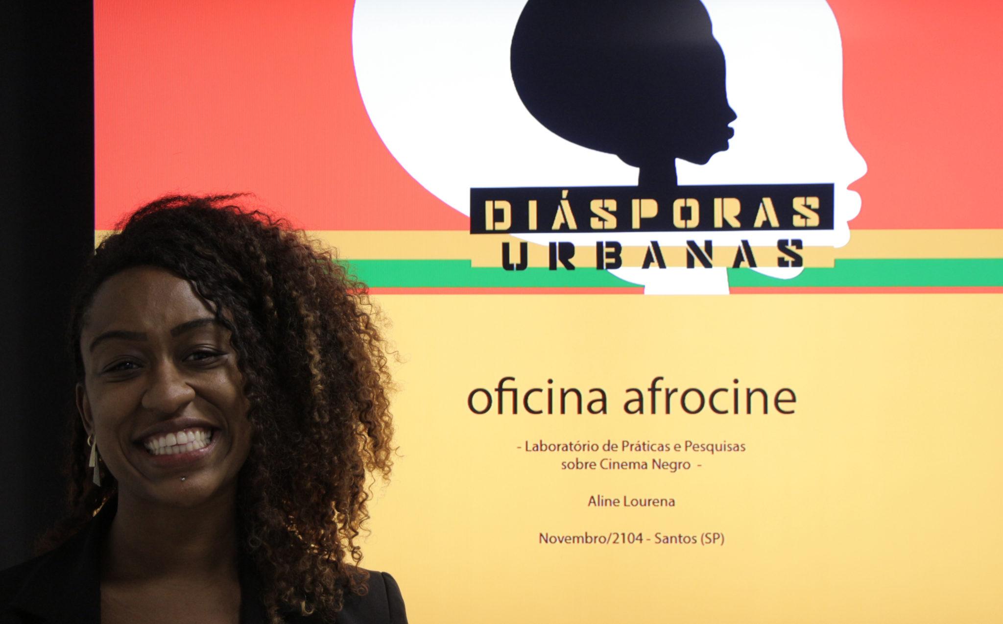 Aline Lourena Oficina Afrocine