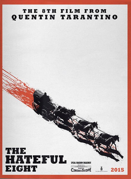 poster lançamentos de janeiro tarantino