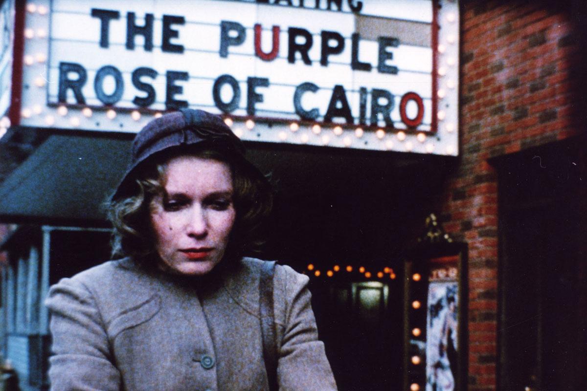 Woody Allen A Rosa Purpura do Cairo