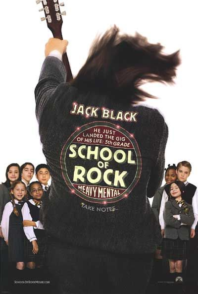 Poster Escola do Rock
