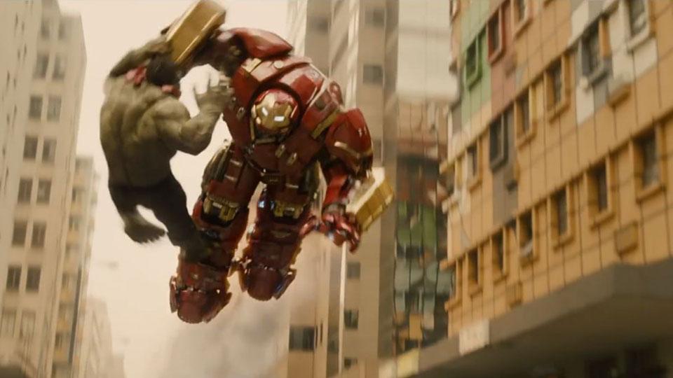 A Era de Ultron Hulk vs Homem de Ferro 2