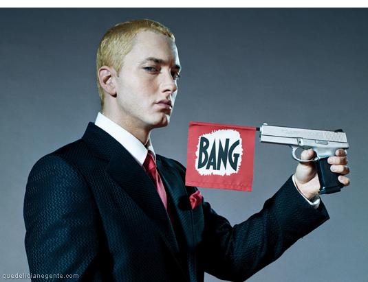 Eminem grava faixa para Southpaw