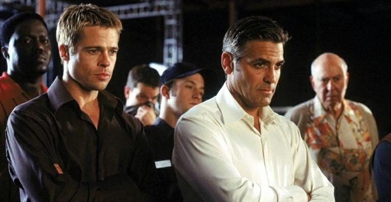 George Clooney em 11 Homens e um Segredo