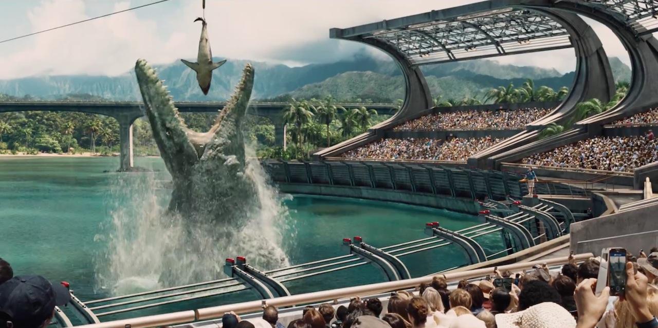 Jurassic World e boquinha