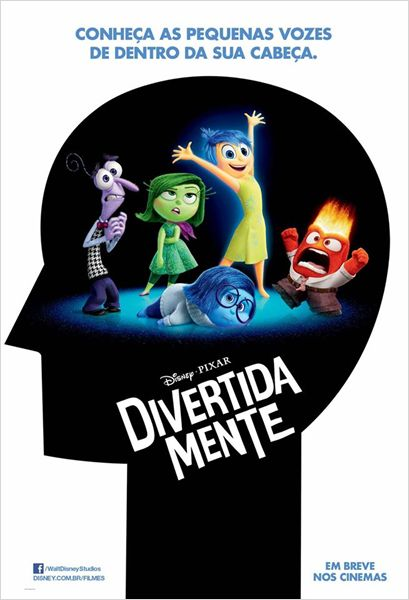 Poster Divertida Mente
