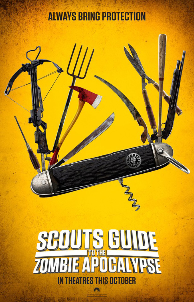 Poster Scouts guide to the zombie apocalypse